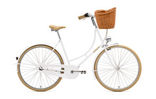 Creme Holymoly Solo Stadsfiets Dames 3-Speed wit